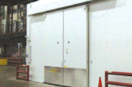 RPlus Walk In Cold Storage Bi Part Sliding Doors